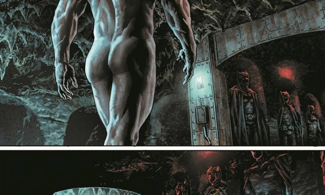"""Trecho do quadrinho """"Batman: Damned"""" Foto: Reprodução"""