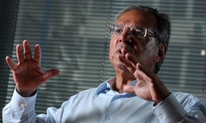 O economista Paulo Guedes Foto: Leo Pinheiro / Agência O Globo