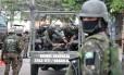 Comando Conjunto faz operação no Jacarezinho Foto: Betinho Casas Novas / 15/09/2018