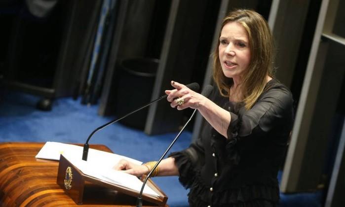 A senadora Vanessa Grazziotin Foto: Antonio Cruz / Agência Brasil