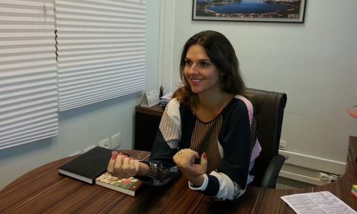 Segundo a secretária Giovanna Victer, a contratação de trainees foi iniciada ainda em 2017 Foto: Divulgação/Prefeitura de Niterói