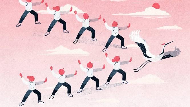 Pesquisas indicam que os movimentos do tai chi chuan podem ser facilmente aprendidos e executados por pessoas de todas as idades Foto: GRACIA LAM / NYT