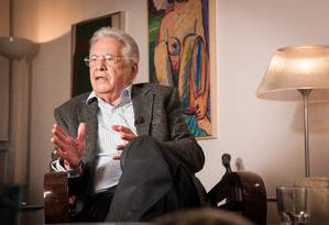 O ex-presidente Fernando Henrique Cardoso Foto: Ana Paula Paiva / Agência O Globo