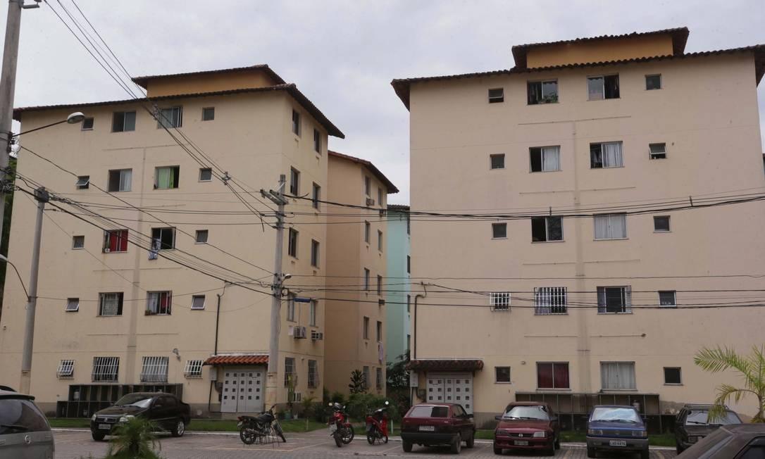 Conjunto de casas do Minha Casa, Minha Vida em Belford Roxo Foto: Cléber Júnior/Agência O Globo/26-02-2018