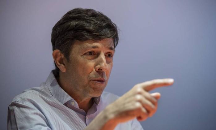 O candidato à presidência João Amoedo Foto: Alexandre Cassiano / Agência O Globo
