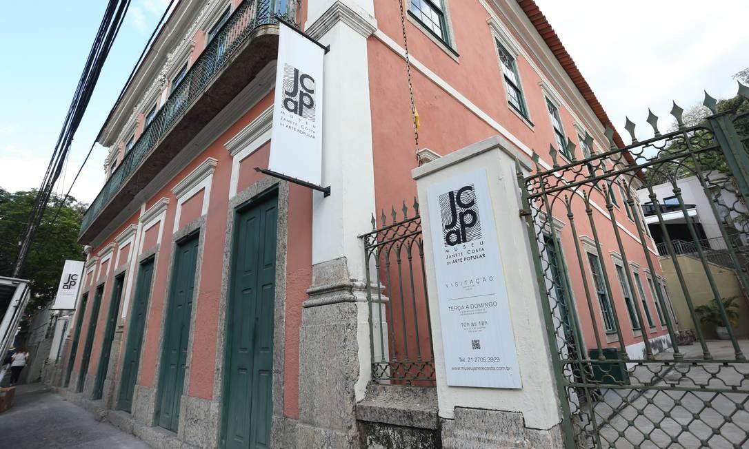 Museu Janete Costa. Prefeitura afirma que está providenciando o certificado Foto: Pedro Teixeira / Pedro Teixeira
