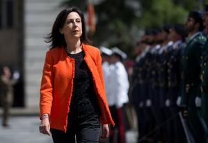 Ministra da Defesa espanhola agiu contra militares que apoiavam imagem do ditador Franco Foto: Ministério da Defesa / Divulgação