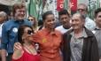 Marina Silva faz caminhada no centro de Taubaté (SP) Foto: Marcos Alves/ Agência O Globo
