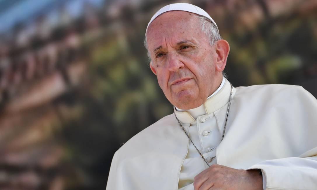 Papa Francisco Foto: ANDREAS SOLARO / AFP