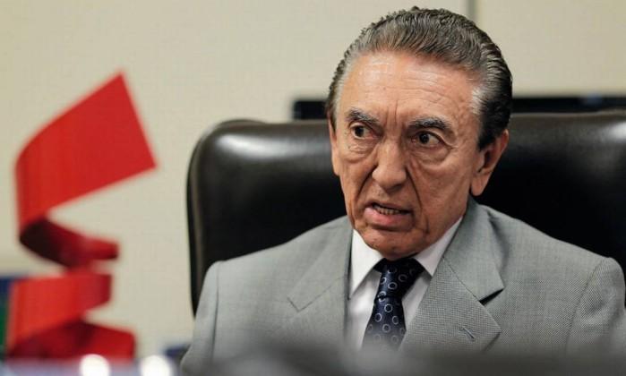 O senador Edison Lobão Foto: Ueslei Marcelino / Reuters