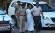 O bispo Franco Mulakkal, acusado de estuprar uma freira, no estado de Kerala, na Índia Foto: SIVARAM V / REUTERS