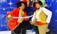 Piratas bem conhecidos das crianças vão participar das brincadeiras Foto: Divulgação