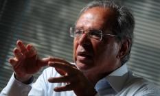 O economista Paulo Guedes 22/02/2018 Foto: Leo Pinheiro / Agência O Globo