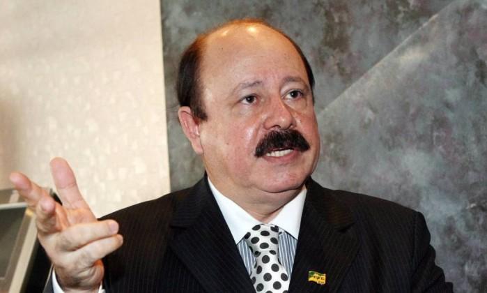 O candidato do Partido Renovador Trabalhista Brasileiro Levy Fidelix Foto: Givaldo Barbosa / Agência O Globo
