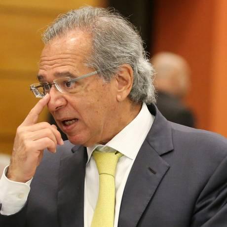 O economista Paulo Guedes, em evento na Firjan Foto: Sergio Moraes/Reuters/06-08-2018