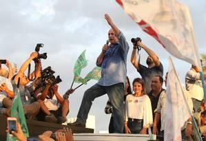 Ciro Gomes participa de atividade de campanha em Goiânia Foto: Ailton Freitas/Agência O Globo