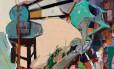 """""""Estudion. 38"""", da pintora Lucia Laguna, é uma das obras exibidas na mostra Foto: Divulgação"""