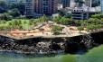 O projeto que simula um deque sobre as pedras da Boa Viagem Foto: Divulgação / Prefeitura de Niterói