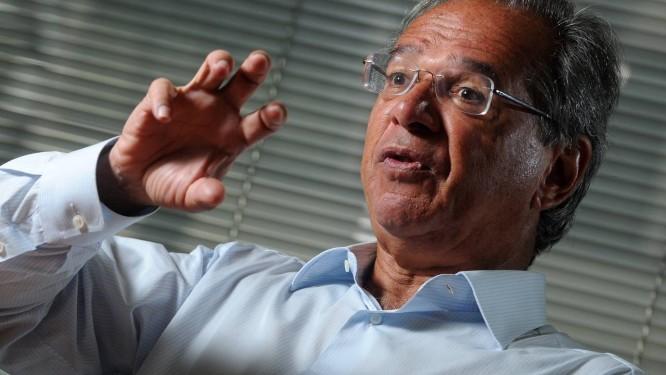 O economista Paulo Guedes, assessor de Bolsonaro Foto: Leo Pinheiro / Agência O Globo