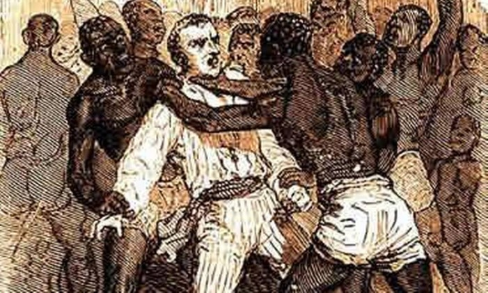 Escravos se revoltam Foto: Reprodução