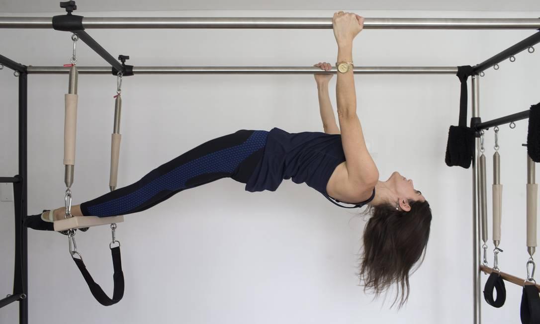 Debora Ejzenbaum descobriu que tinha osteoporose aos 37 anos Foto: Agência O Globo
