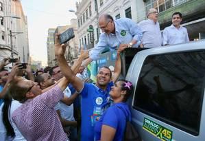 Geraldo Alckmin faz campanha em Salvador. 21/09/2018 Foto: Ciete Silvério / Divulgação
