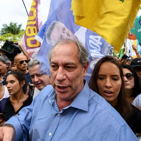 Ciro Gomes faz campanha em Brasília 21/09/2018 Foto: EVARISTO SA / AFP