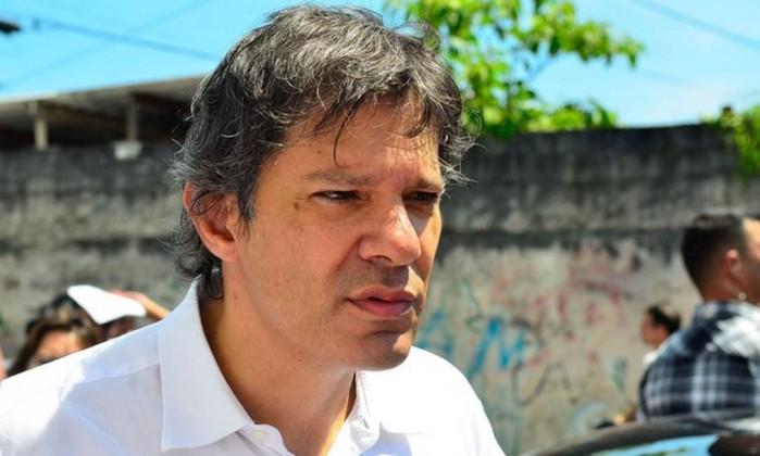 O candidato do PT à Presidência da República, Fernando Haddad Foto: Rovenna Rosa / Agência Brasil