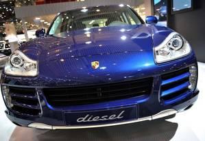 Carros da Porsche não serão mais movidos a óleo diesel Foto: Fabrice Coffrini / AFP