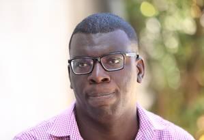 O professor Thiago dos Santos Conceição, de 31 anos: educador recebeu solidariedade de colegas de profissão Foto: Fabiano Rocha / Agência O Globo