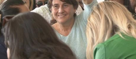 Eliana Pedrosa, candidata ao governo do DF Foto: Reprodução / TV Globo