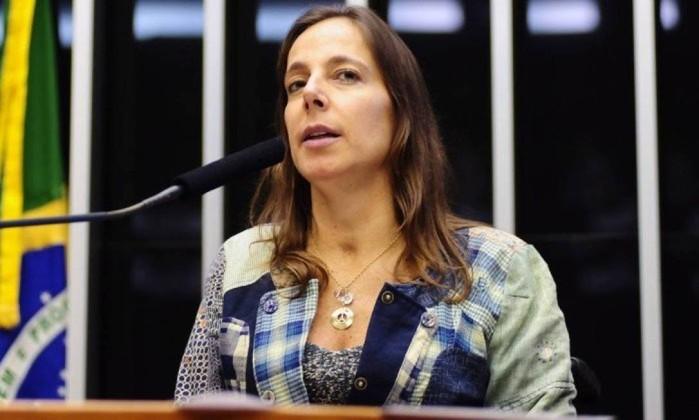A candidata ao Senado pelo PSDB de São Paulo Mara Gabrilli Foto: Gustavo Lima / Agência O Globo