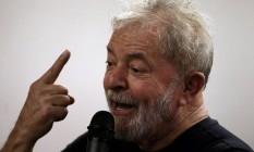 O ex-presidente Lula Foto: Paulo Whitaker / Reuters
