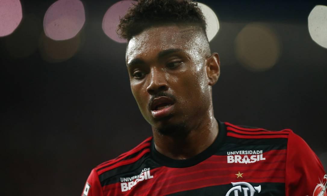 Vitinho foi a contratação mais cara do Flamengo na história Foto: Gilvan de Souza/Flamengo
