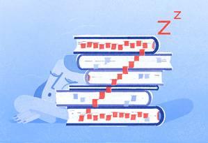 Pesquisas mostram que a quantidade e a qualidade do sono são tão ou mais importantes para o desempenho dos alunos quanto temas que costumam preocupar as escolas como o álcool e as drogas Foto: GRACIA LAM / NYT