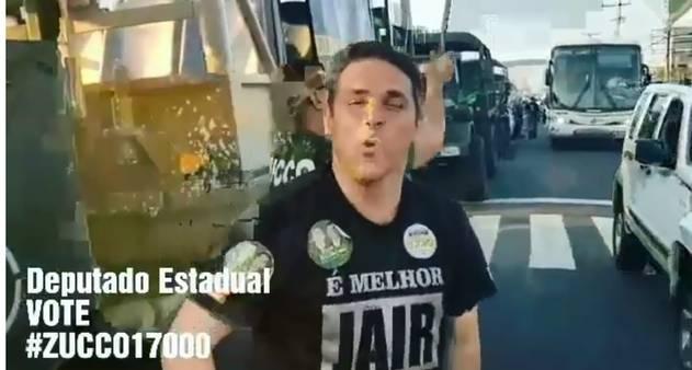 MP eleitoral recebe denúncia sobre uso de caminhões que seriam do Exército  em ato pró-Bolsonaro no RS - Jornal O Globo 83bc35c7c5b