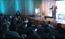 Eric Hanushek, da Universidade de Stanford (EUA), palestra no Educação 360 Foto: Reprodução