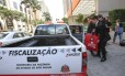 Fiscais da Secretaria de Fazenda de São Paulo fazem busca em escritório de cervejaria acusada de fraudar R$ 100 milhões em ICMS Foto: Edilson Dantas / Agência O Globo