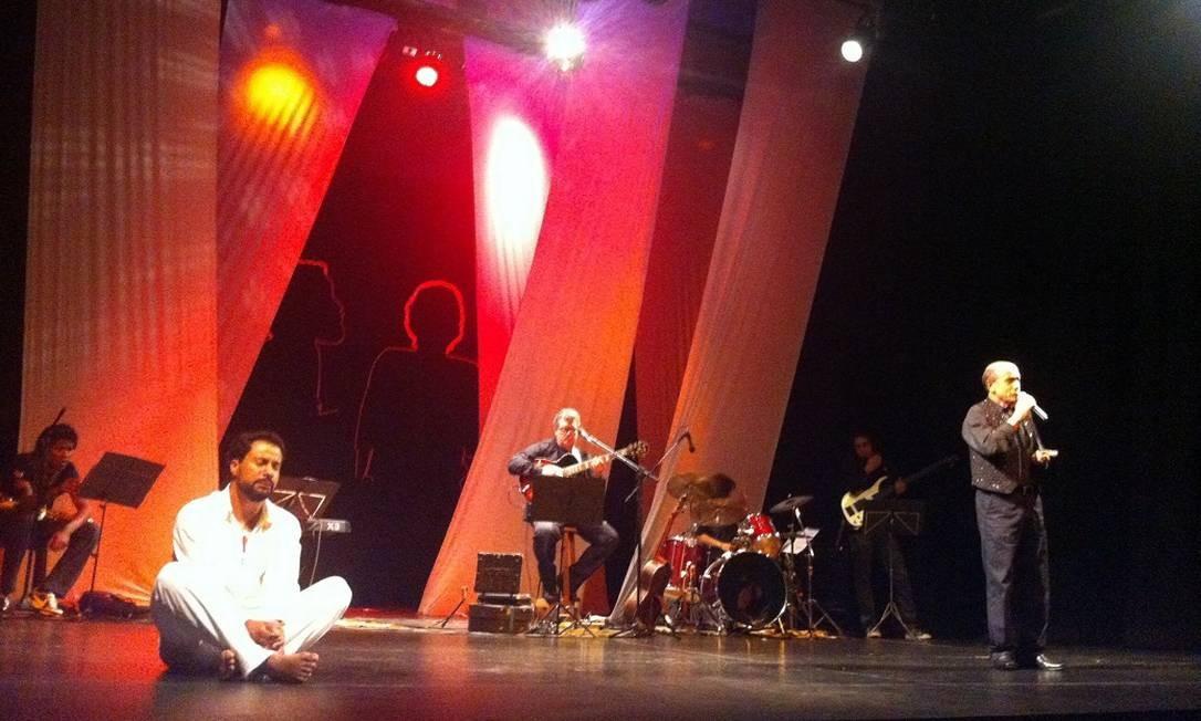 'Gonzaguinha — O eterno aprendiz': bem-sucedido como um show-tributo ao compositor Foto: Divulgação