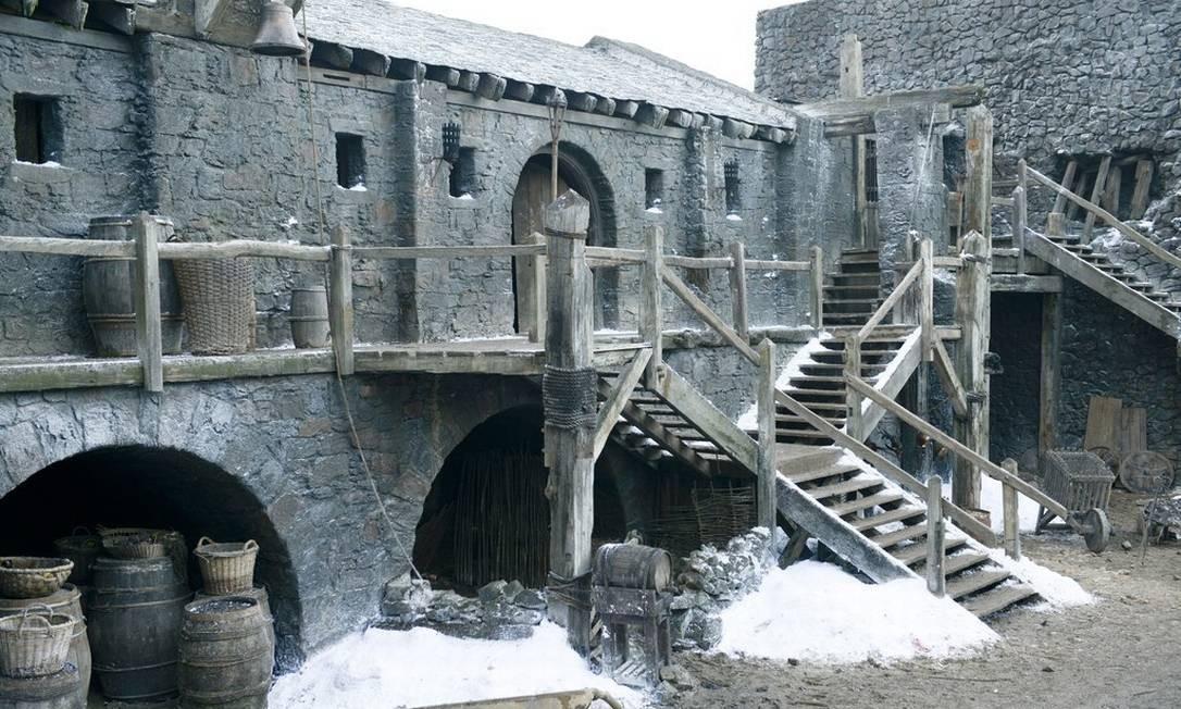 """Cenario de Wintefell será um dos que serão abertos ao público após o fim das gravações de """"Game of Thrones"""" na Irlanda do Norte Foto: Reprodução"""