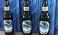 Cerveja Nossa, feita de mandioca, para venda exclusiva em Pernambuco Foto: Reprodução