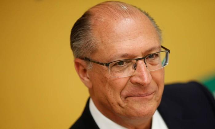 O candidato Geraldo Alckmin (PSDB) Foto: Adriano Machado / Reuters