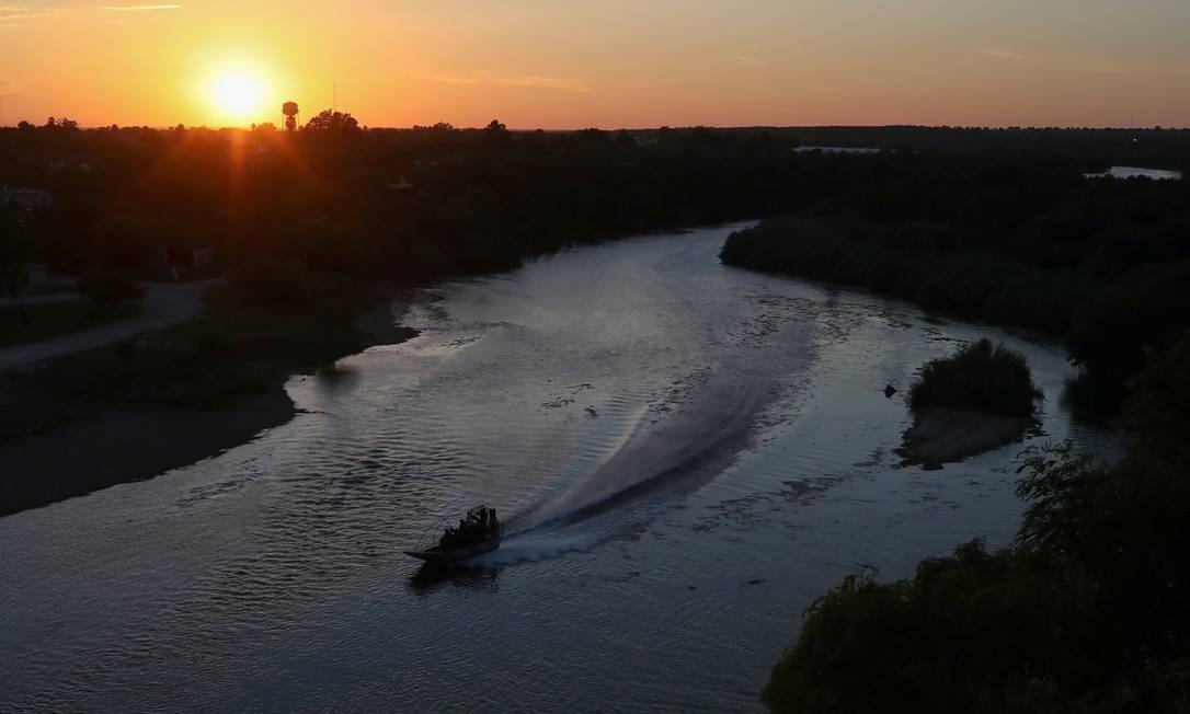 Pôr do sol em Roma, Texas. Foto: ADREES LATIF / REUTERS