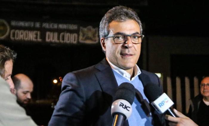 O ex-governador do Paraná Beto Richa (PSDB) Foto: Geraldo Bubniak / AGB / Agência O Globo