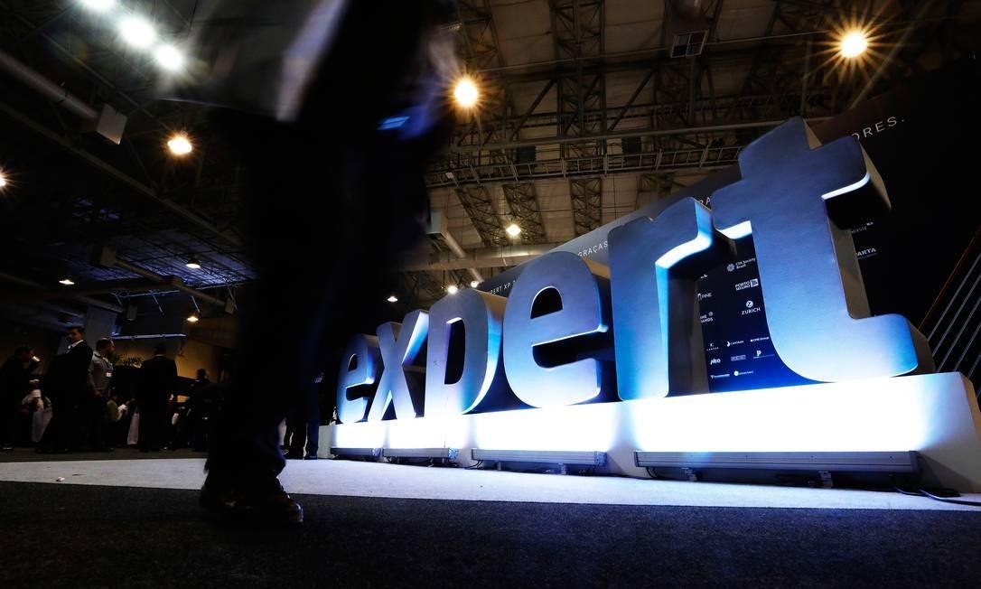 A XP Expert 2018 é considerada a maior feira do setor no mundo Foto: Marcelo Chello / Agência O Globo