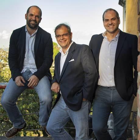 A partir da esquerda: Jerônimo Bocayuva, Marcelo Torres e Leonardo Rezende Foto: Ana Branco / Agência O Globo