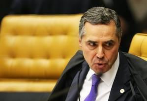 O ministro Luis Roberto Barroso, durante sessão do STF Foto: Ailton de Freitas / Agência O Globo