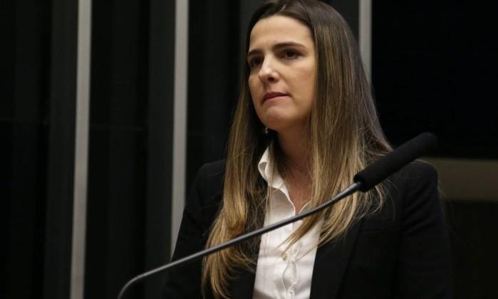 A deputada Clarissa Garotinho (Pros-RJ), candidata à reeleição Foto: Ailton de Freitas / Agência O Globo