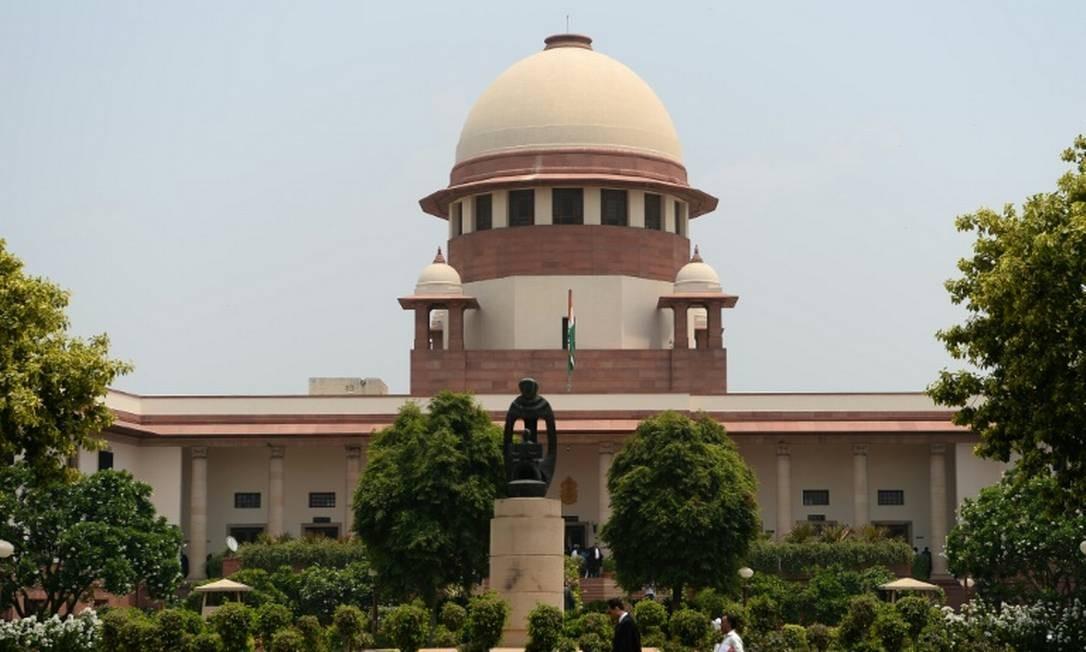 A Suprema Corte da Índia descriminalizou o adultério Foto: Sajjad HUSSAIN / AFP