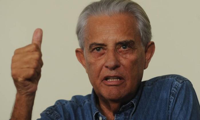 Joaquim Roriz, ex-governador do DF Foto: ANTONIO CRUZ / Agência Brasil